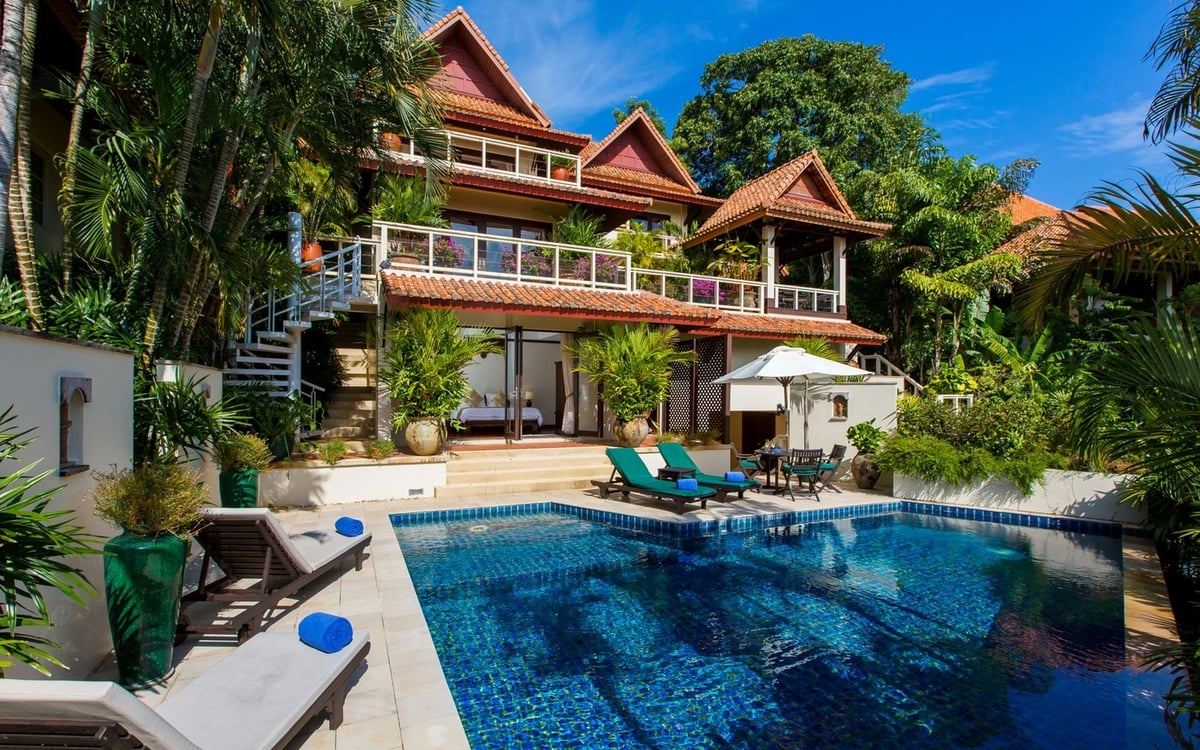Katamanda villa Phuket 3 bed with private pool (E5)