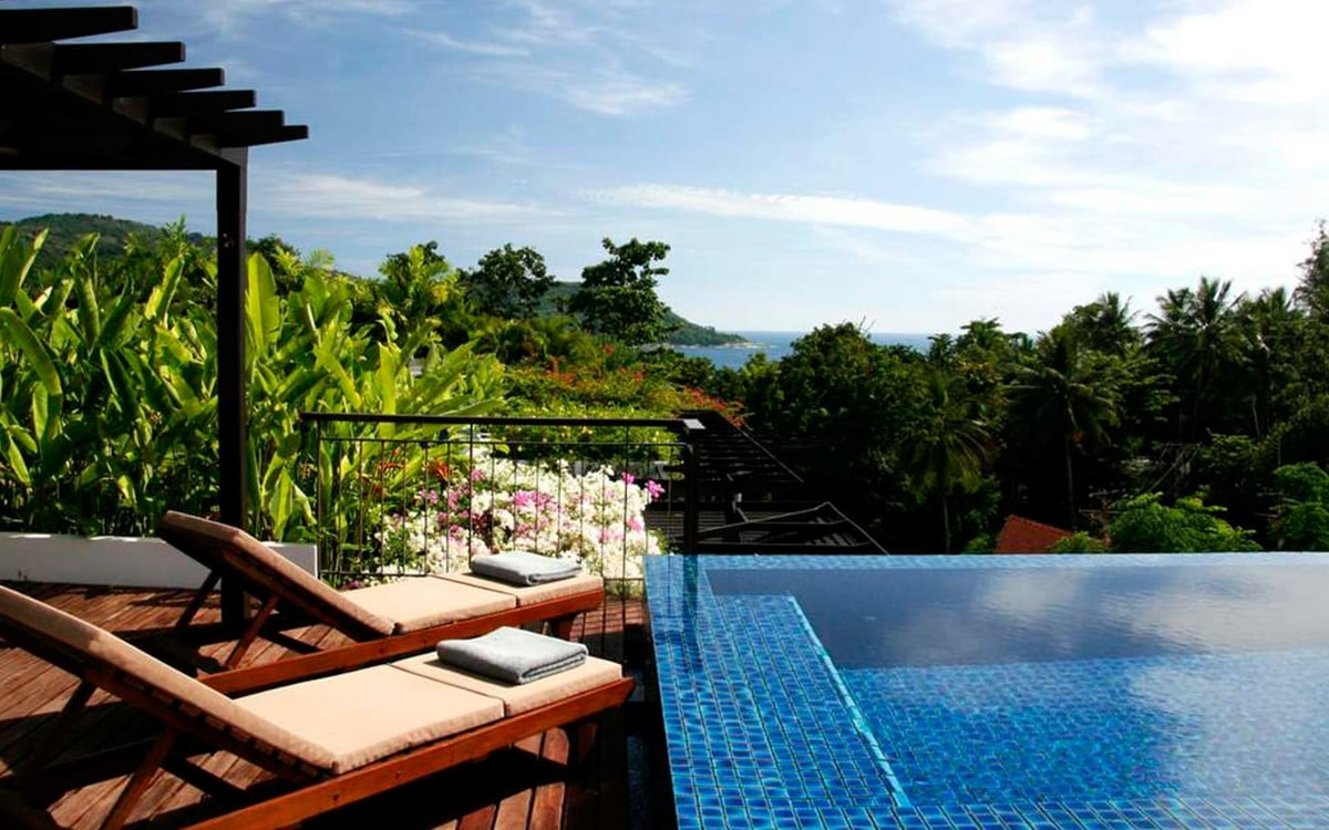Seaview Kata Gardens Phuket Penthouse with Private Rooftop (4C)