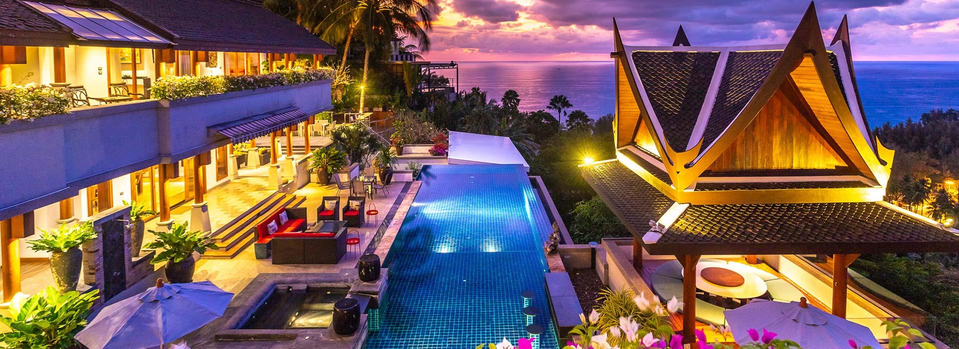 Soraya 7 Bed Villa<br>Surin, Phuket