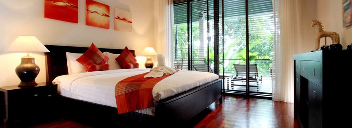 Kata Gardens Phuket<br>2 Bed part seaview+gardens view