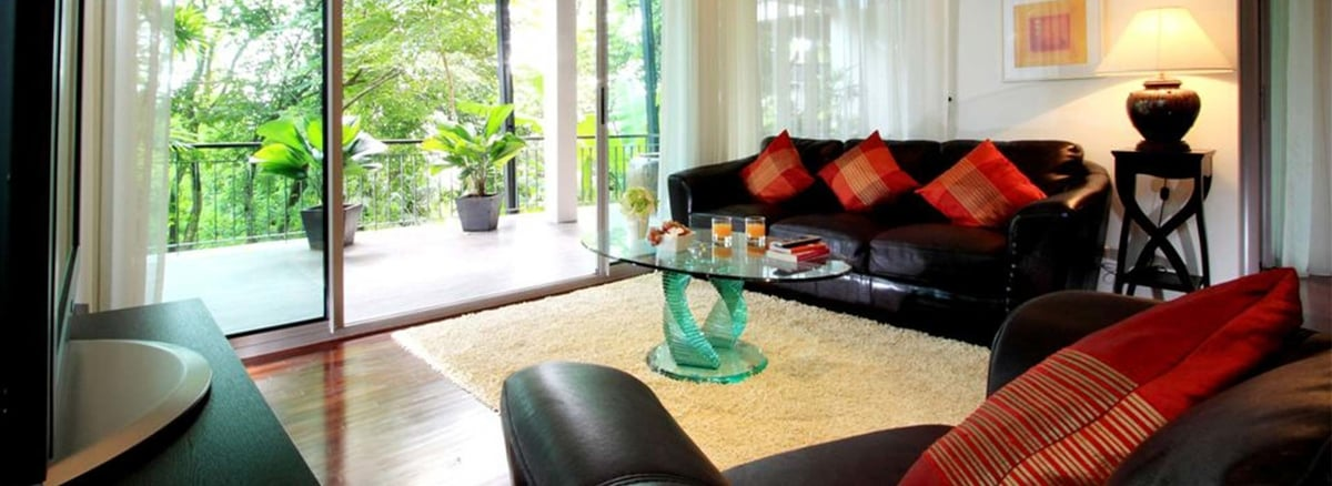 Kata Gardens Phuket<br>2 Bed part seaview+gardens view