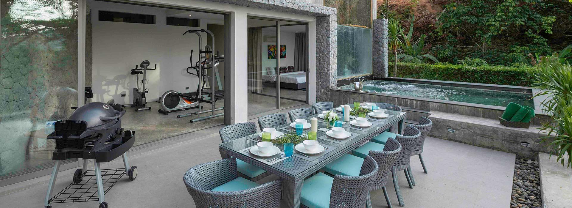 Kamonchat 7 Bed Villa<br>Kamala, Phuket