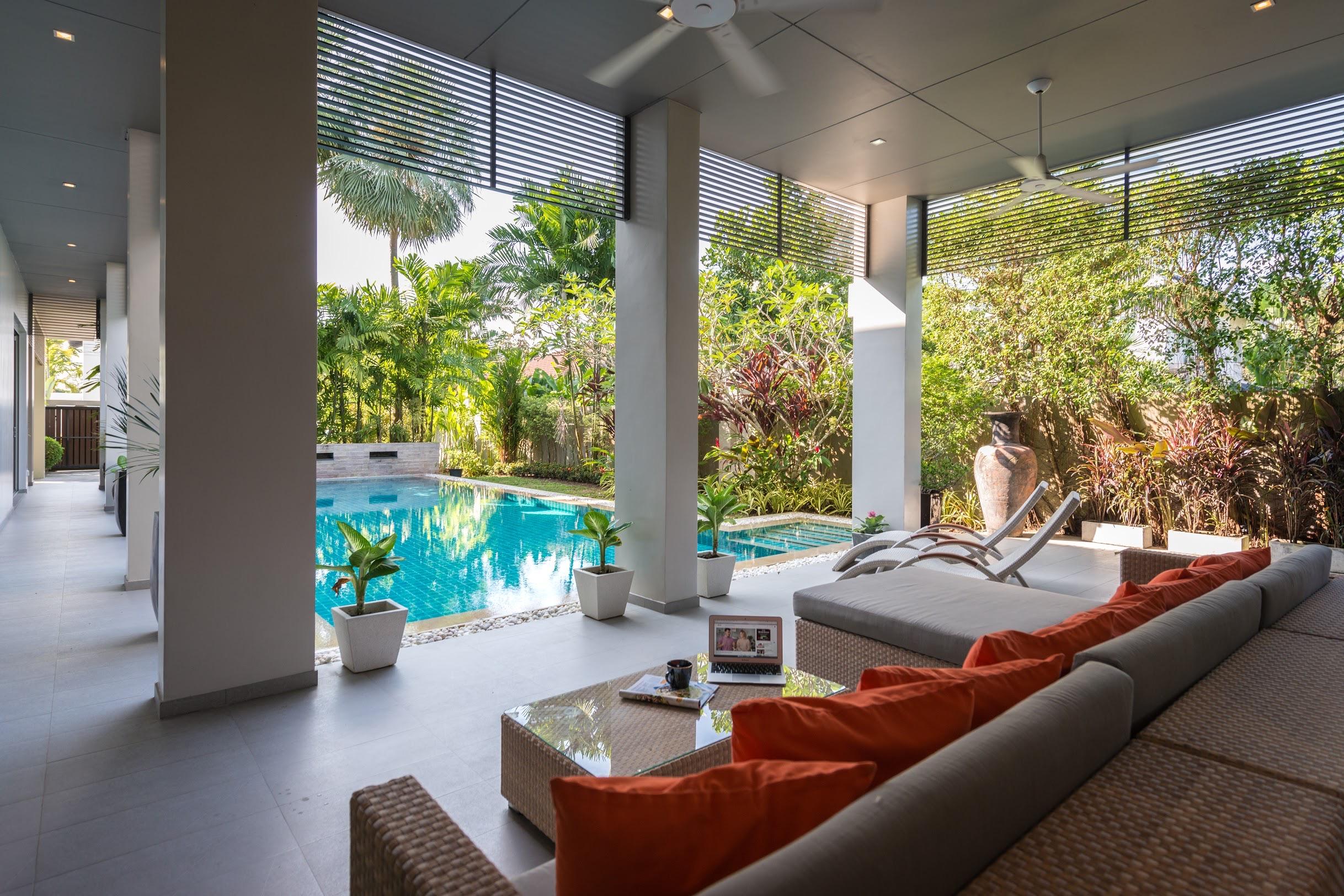 Pool villa in Pasak for sale