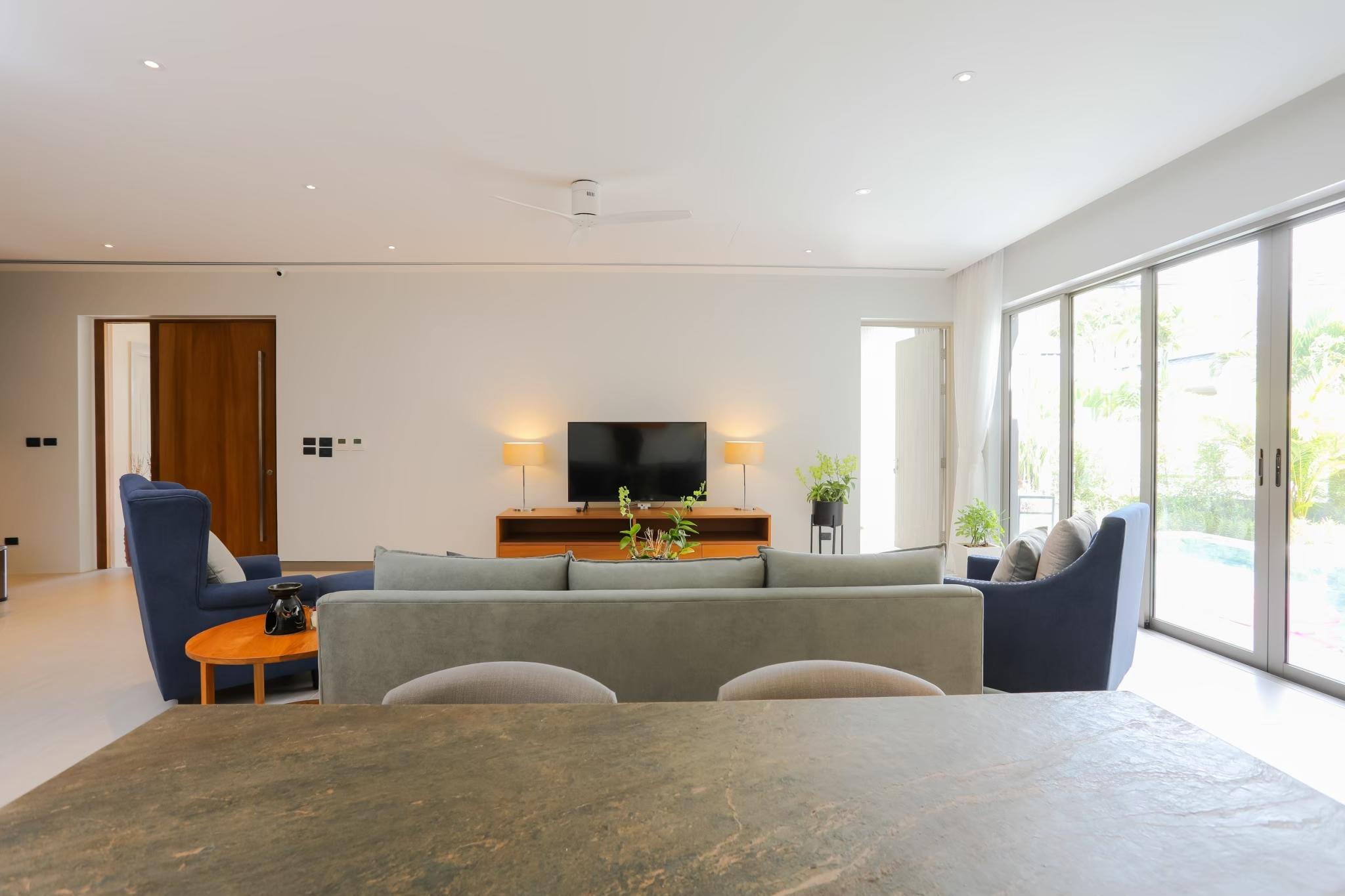 Modern pool villa for sale
