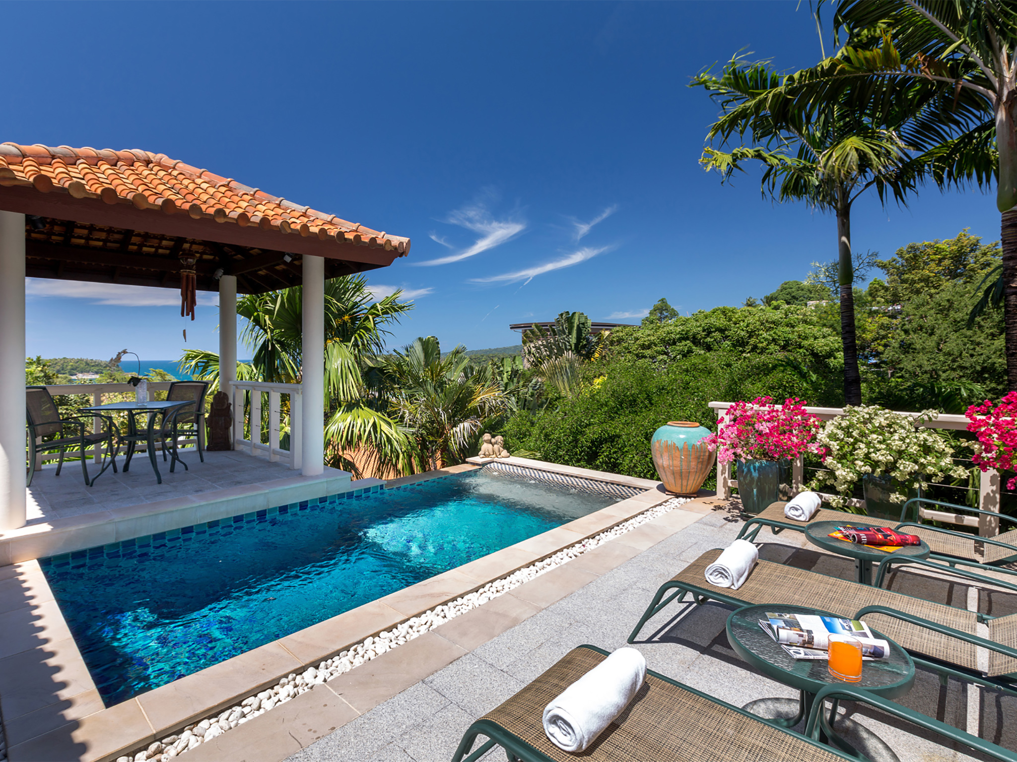 Villa Kamia Sea view pool villa
